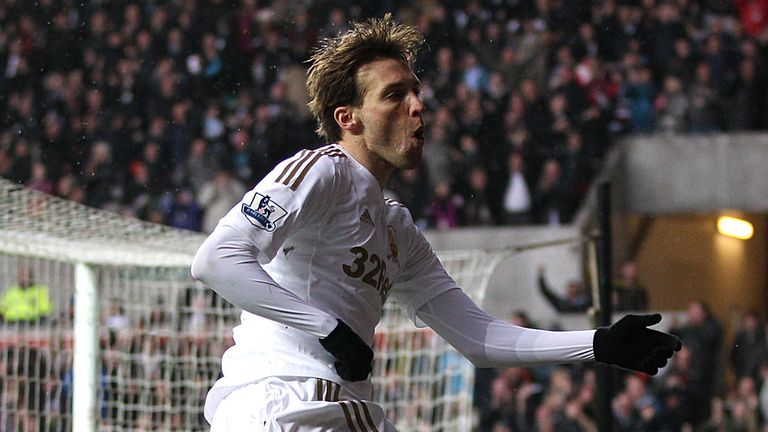 Michu: Swansea striker played down fears over his fitness