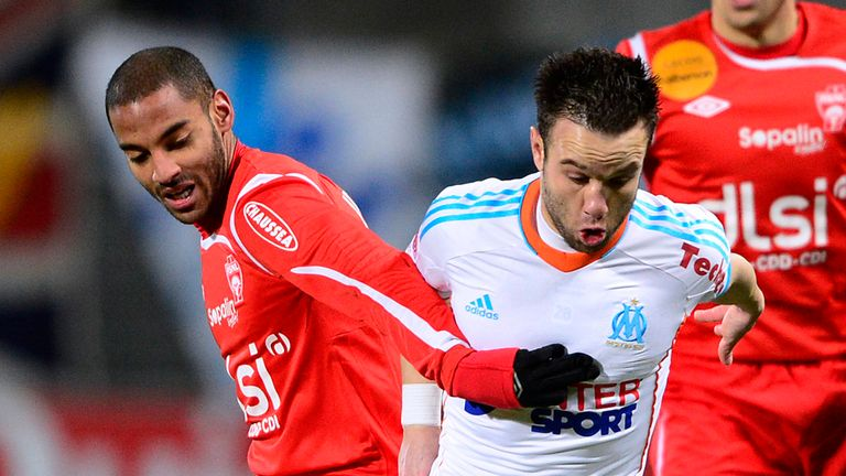 Mathieu Valbuena (r): Battles with Yassine Jebbour