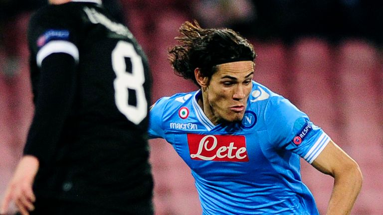Edinson Cavani: Will leave Napoli if the release clause is met