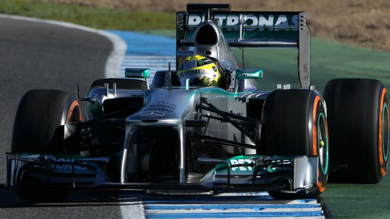 The W04 has revealed an impressive turn of speed at the conclusion of the winter test season