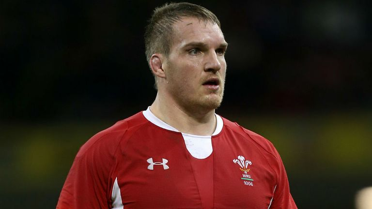 Gethin Jenkins: Takes over as captain from injured team-mate Ryan Jones