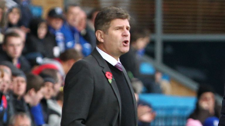 Brian Laws: Has option to keep James Alabi
