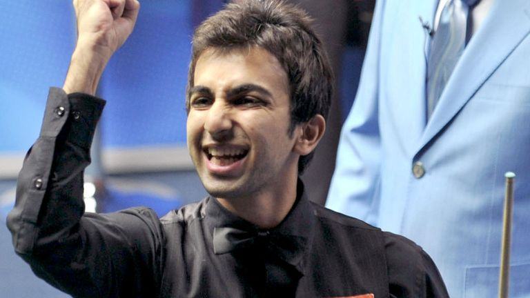 Pankaj Advani makes history in Newport