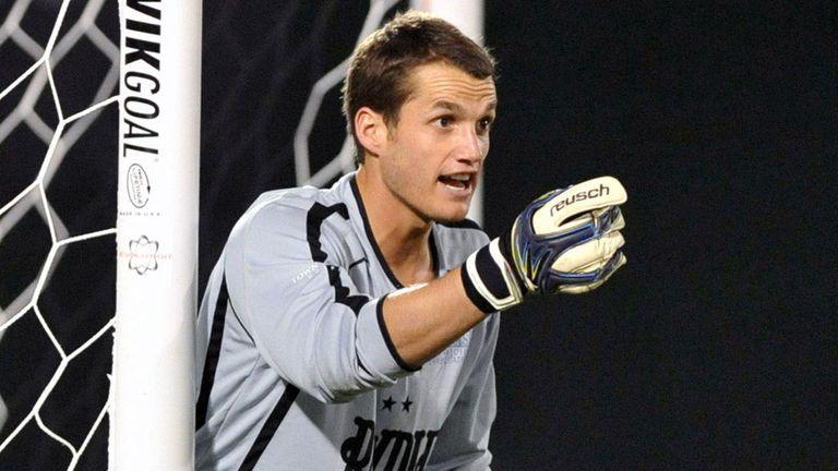Tampa Bay Rowdies goalkeeper Andrew Fontein