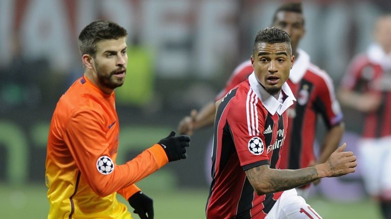 Gerard Pique: Barcelona defender confident of beating Milan