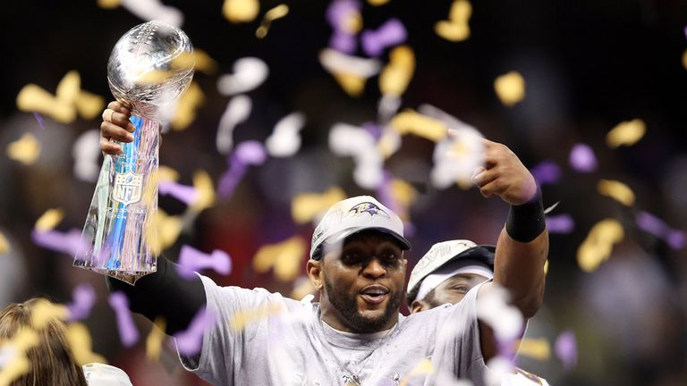 Ray Lewis: Baltimore Ravens linebacker finished with Super Bowl win