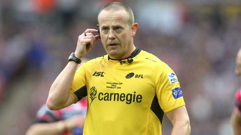 Super League's Richard Silverwood - referees will answer fans' questions