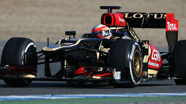 Romain Grosjean: Thinks Lotus will be there or thereabouts again