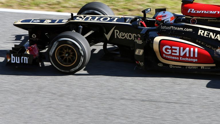 Romain Grosjean: Seven tenths of a second clear on Day Two