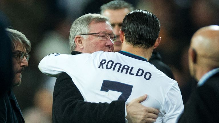 Ferguson and Ronaldo: mutual affection clearly exists between the two, says Jeff