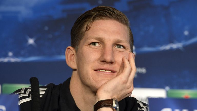 Bastian Schweinsteiger: Speaks to media on Monday