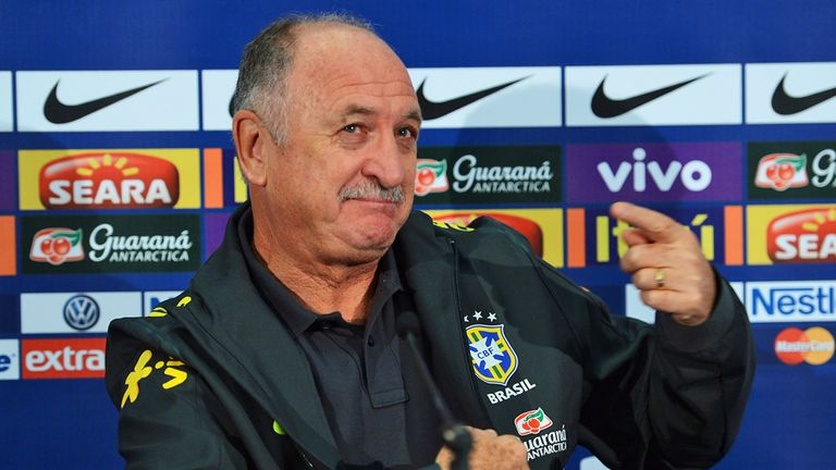 Luiz Felipe Scolari: England improving with younger players