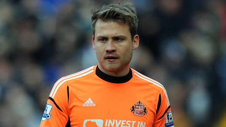 Simon Mignolet: Sunderland's Player of the Year in the 2012/13 season