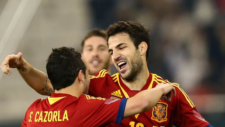 Cesc Fabregas: Targeting more honours with Spain