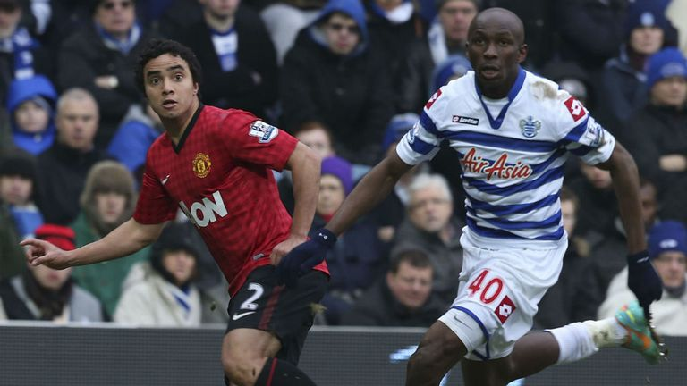 Stephane Mbia: The QPR midfielder did not impress Gary Neville at the weekend