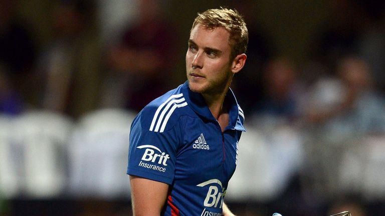 Stuart Broad: bowled four overs for 53 and scored one run with the bat