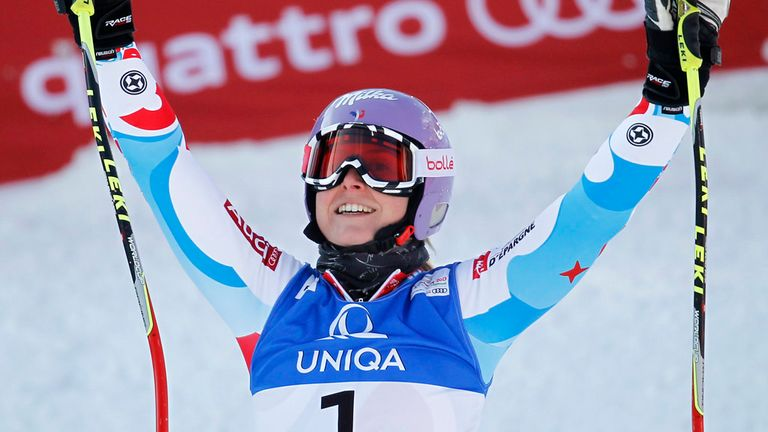 Tessa Worley: Won giant slalom gold at the world championships