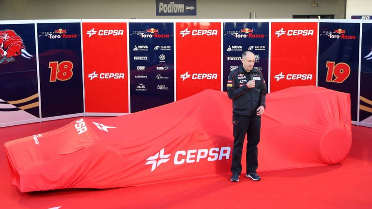 Toro Rosso: Another Jerez unveiling