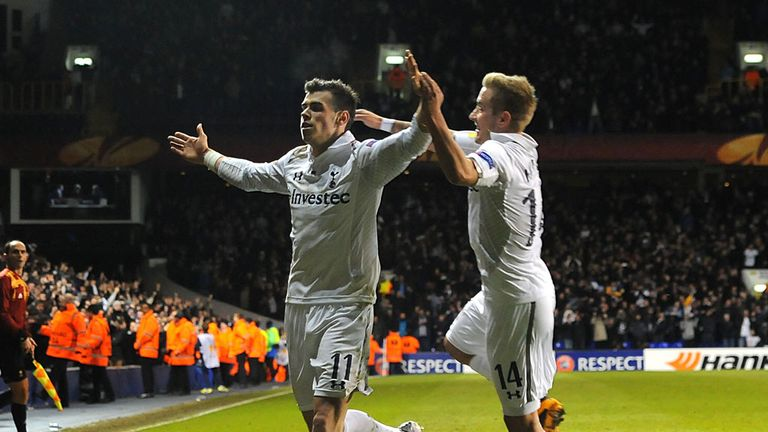 Gareth Bale: Praised by Andre Villas-Boas after match-winning performance against Lyon