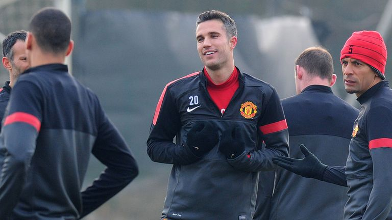 Robin van Persie: Could end career at Old Trafford
