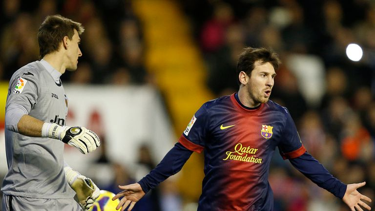 Lionel Messi: On target, again
