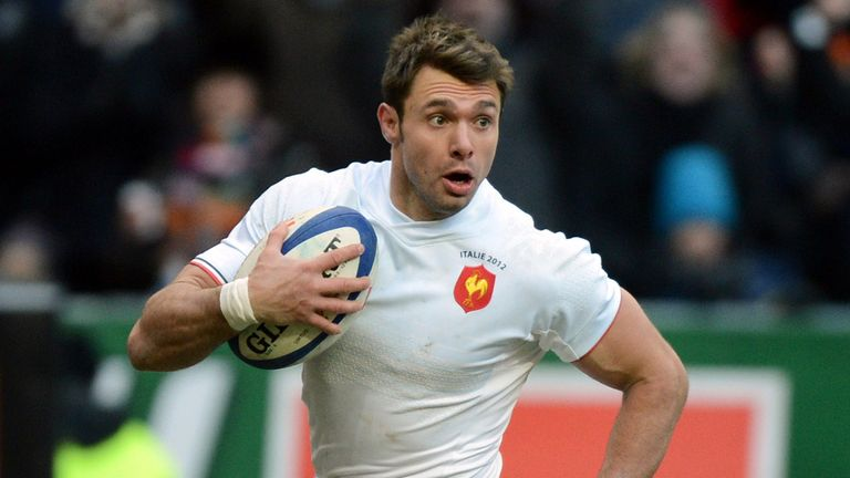 Vincent Clerc: Wing in action for France