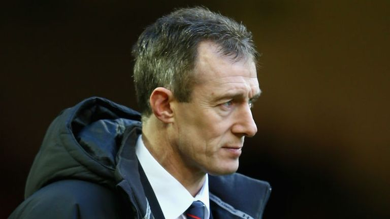 Rob Howley: Yet to win as interim head coach