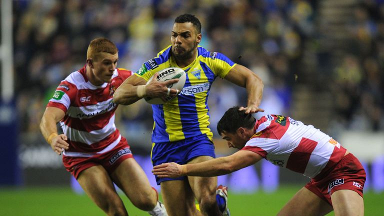 Ryan Atkins: Scored 10 tries in 10 appearances for the Wolves