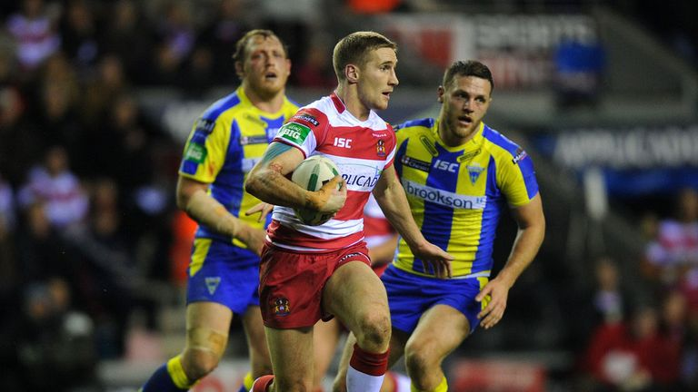 Sam Tomkins: missed last weekend's defeat at Huddersfield