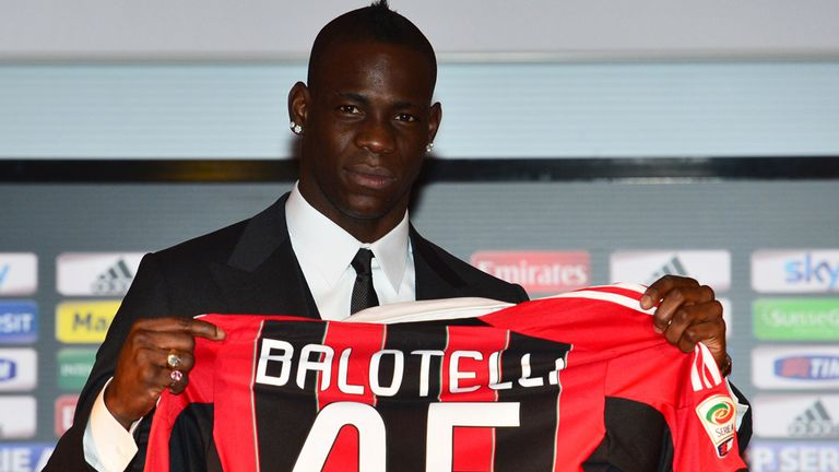 Mario Balotelli: Looking forward to starting a new chapter in his career at AC Milan
