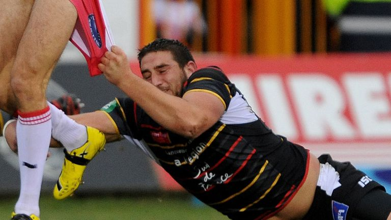Julian Bousquet: Catalan Dragons player defended by club