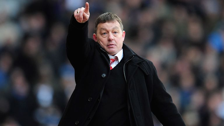 Billy Davies: In determined mood as he takes Nottingham Forest reins again
