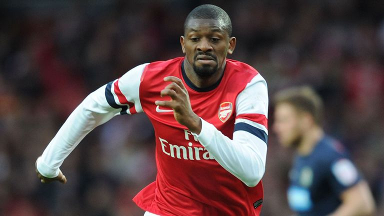 Abou Diaby: Could miss Sunday's derby with a calf injury