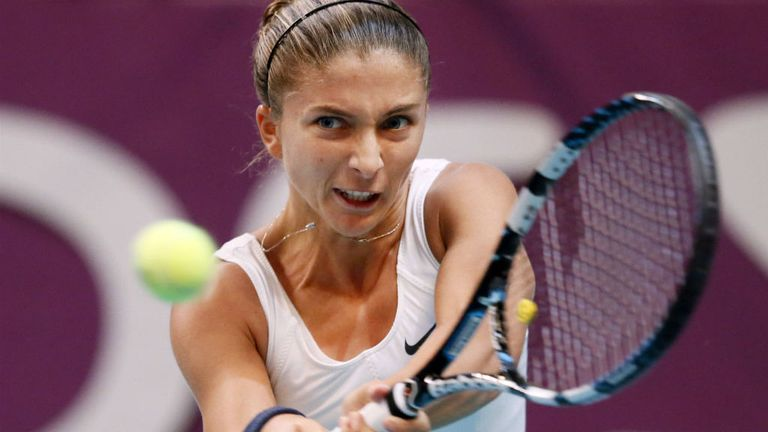 Sara Errani: Had lost to Carla Suarez Navarro at this year's Australian Open