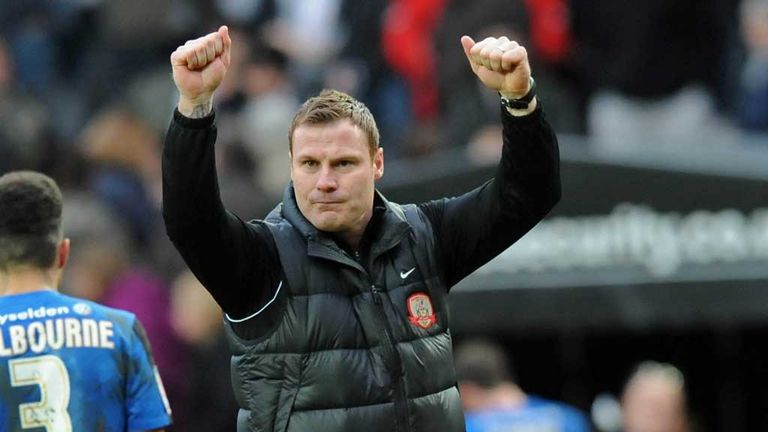 David Flitcroft: Happy to have signed his contract at Barnsley