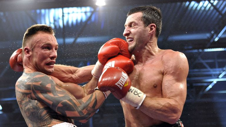 Kessler: Will want a war with Froch on May 25, says Johnny