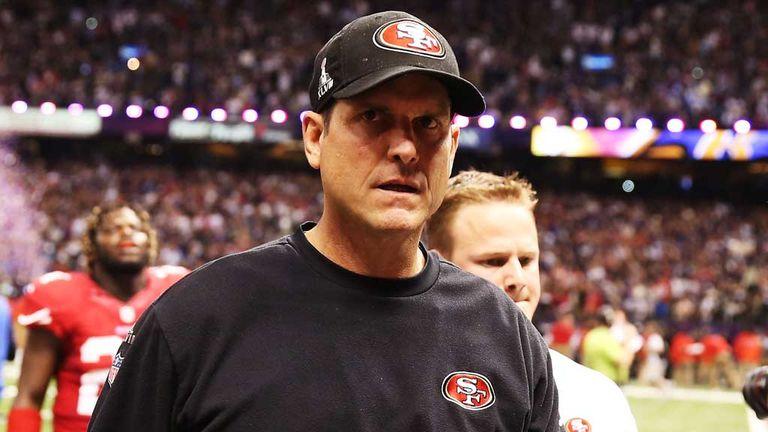Jim Harbaugh: San Francisco 49ers coach praises his side despite Super Bowl defeat