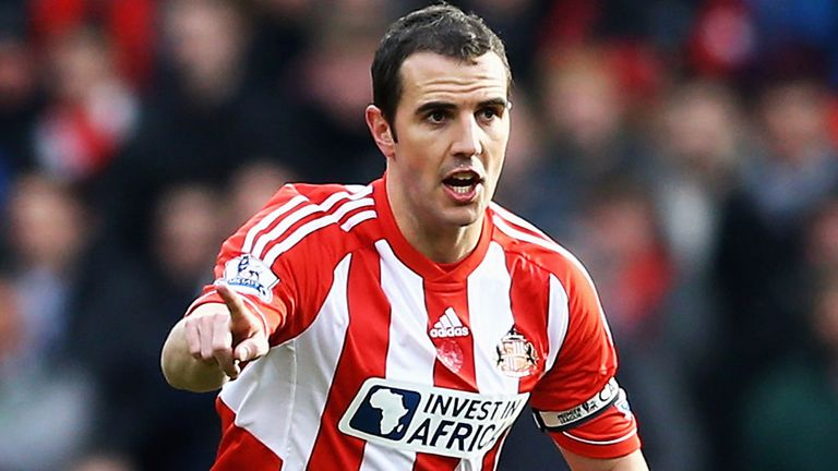 John O'Shea: Hoping to help Sunderland preserve their Premier League status