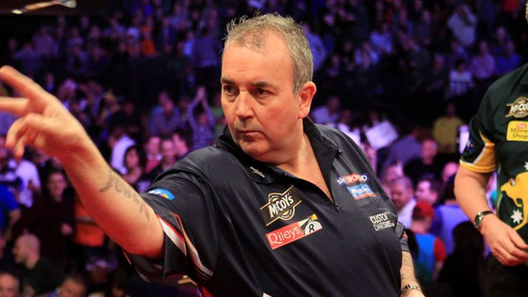Phil Taylor: At his very best last week (pic Lawrence Lustig/PDC)
