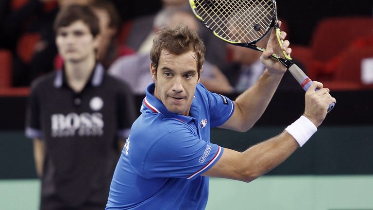 Richard Gasquet: Rallied in the deciding set to beat Julien Benneteau