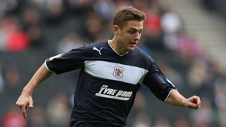 Robbie Rogers: American in action for Stevenage