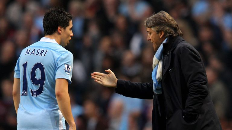 Samir Nasri: Shocked by Roberto Mancini's attack on him