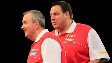Phil Taylor and Adrian Lewis will represent England at the World Cup of Darts