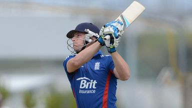 Jos Buttler: hit first half-century in England colours