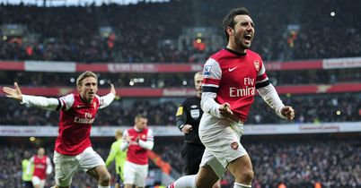 Santi Cazorla: Secured a late win for Arsenal