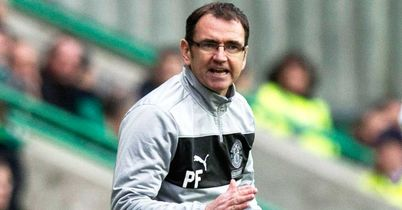 Pat Fenlon: Delighted with Hibernian's display at Dundee United