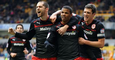 Fraizer Campbell: Bagged a brace in Cardiff win