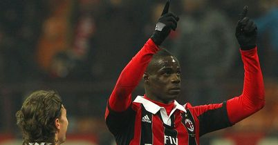 Mario Balotelli: Suffered racial abuse at the San Siro