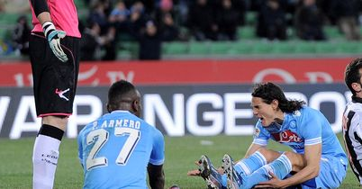 Edinson Cavani: Rues a missed opportunity against Udinese