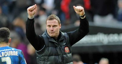 David Flitcroft: Needs to keep squad focused on league form